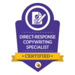 Direct-Response Copywriting Specialist badge