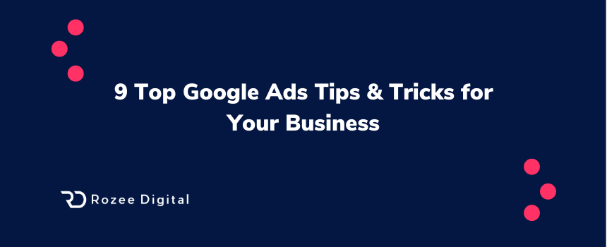 Google Ads Tricks